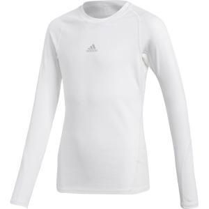 アディダス adidas サッカーウェア ジュニア KIDS ALPHASKIN TEAM ロングスリーブシャツ EUU84-CW7325 2018 kpi24