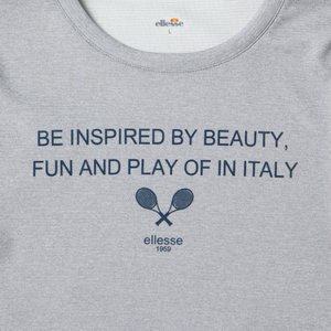 エレッセ Ellesse テニスウェア レディース L/Sウェットコントロールクルー EW19102 2019SS|kpi24|04