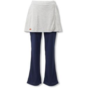 エレッセ Ellesse テニスウェア レディース メランジスカートパンツ EW29103 2019SS|kpi24