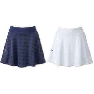 エレッセ Ellesse テニスウェア レディース S/Sクラブジャカードスカート EW29104 2019SS|kpi24