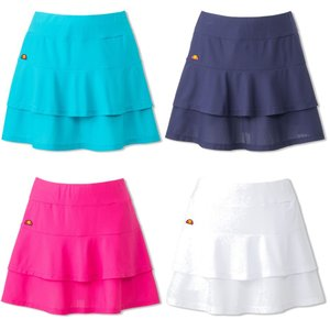 エレッセ Ellesse テニスウェア レディース レイヤードスカート EW29108 2019SS 4月発売予定※予約 kpi24
