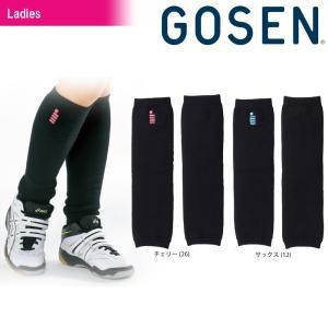 ゴーセン GOSEN テニスウェア レディース レッグウォーマー G1800 2018SS|kpi24