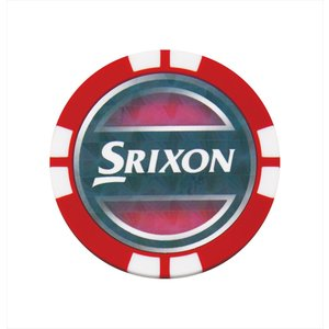 ダンロップ DUNLOP スリクソン SRIXON ゴルフアクセサリー  チップマーカー&クリップ  GGF-16109|kpi24