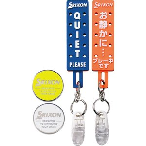ダンロップ DUNLOP スリクソン SRIXON ゴルフアクセサリー  マーカー付パターカバーホルダー  GGF-25293|kpi24