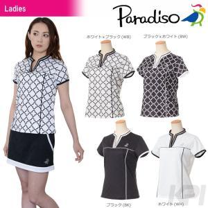 PARADISO パラディーゾ 「レディース半袖シャツ ICL71A」テニスウェア「2017FW」|kpi24