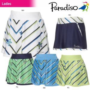 パラディーゾ PARADISO テニスウェア レディース スコート JCL01L 2018SS|kpi24
