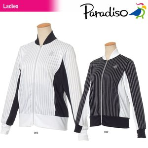 パラディーゾ PARADISO テニスウェア レディース ジャケット JCL76M 2018SS|kpi24