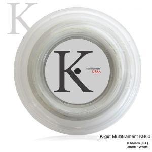 『即日出荷』 KPI ケイピーアイ 「K-gut Multifilament KB66 200mロール」バドミントンストリング ガット  KPIオリジナル商品|kpi24
