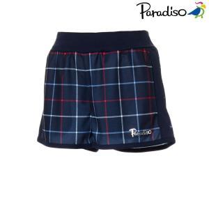 パラディーゾ PARADISO テニスウェア レディース ショートパンツ KCL02S 2018FW|kpi24
