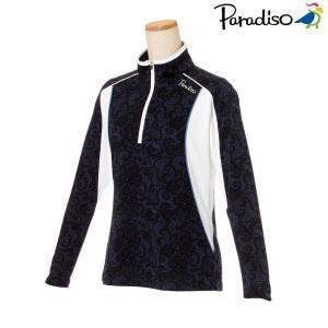 パラディーゾ PARADISO テニスウェア レディース 長袖シャツ KCL06F 2018FW|kpi24