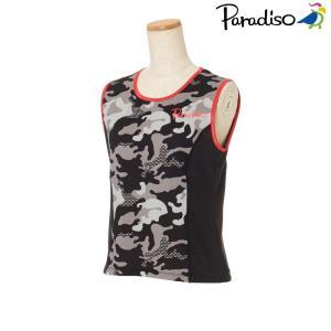 パラディーゾ PARADISO テニスウェア レディース 半袖シャツ KCL63A 2018FW|kpi24