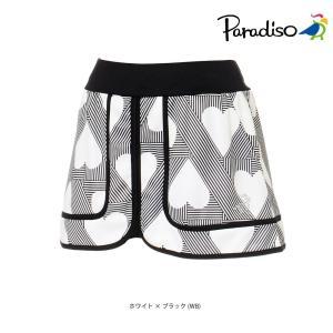 パラディーゾ PARADISO テニスウェア レディース スコート KCL74L 2018FW|kpi24