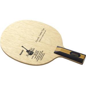 Nittaku ニッタク [「卓球 中国式ペンラケット」 アコースティックカーボンC NC0179]卓球ラケット|kpi24
