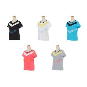 パラディーゾ PARADISO テニスウェア レディース 半袖シャツ NCL61A 2019SS[ネコポス可]|kpi24