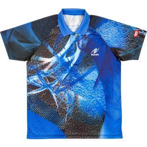 「2017新製品」Nittaku ニッタク [ユニセックス クラウダーシャツ NW2177]卓球ゲームシャツ・パンツ|kpi24