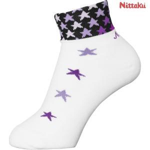 ニッタク Nittaku 卓球ウェア レディース スターソックス 卓球用ソックス NW2960-50 2018SS|kpi24