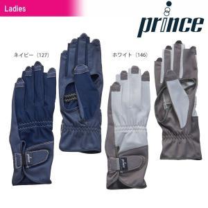 プリンス Prince テニス手袋・グローブ レディース ネイルスルー穴開きロンググローブ  PG959[ネコポス可]|kpi24