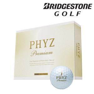 ブリヂストン BRIDGESTONE ゴルフボール  PHYZ Premium  ファイズ プレミアム  1ダース 12個入り  PHYZP-GP 『即日出荷』|kpi24