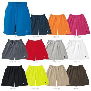 テニスウェア バドミントン ウェア ユニセックス  ゴーセン GOSEN LL・XLサイズのみ ハーフパンツ PP1100|kpi24
