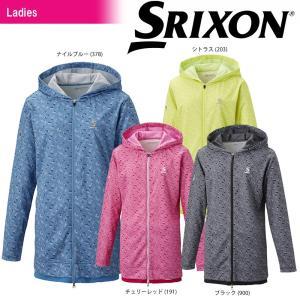 スリクソン SRIXON テニスウェア レディース ライトロングジャケット SDF-5823W 2018SS|kpi24