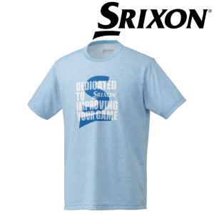 スリクソン SRIXON テニスウェア ユニセックス Tシャツ SDL-8840 SDL-8840 2018FW[ネコポス可]|kpi24