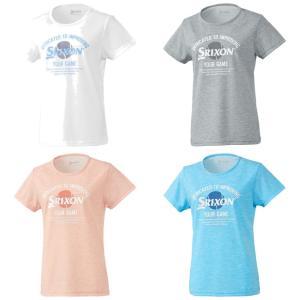 スリクソン SRIXON テニスウェア レディース Tシャツ SDL-8920W 2019SS[ネコポス可]|kpi24