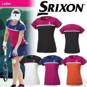 テニスウェア レディース スリクソン SRIXON WOMEN'S TOUR LINE ゲームシャツ SDP-1760W 2017FW 2017新製品|kpi24