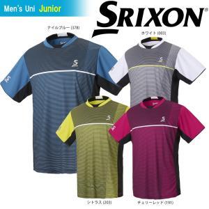 スリクソン SRIXON テニスウェア ジュニア ゲームシャツ SDP-1802J 2018SS|kpi24