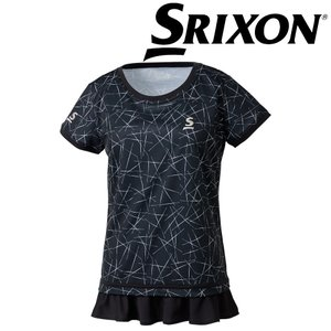 スリクソン SRIXON テニスウェア レディース ゲームシャツ SDP-1862W SDP-1862W 2018FW|kpi24