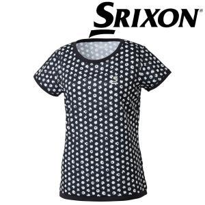 スリクソン SRIXON テニスウェア レディース ゲームシャツ SDP-1864W SDP-1864W 2018FW|kpi24