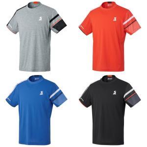スリクソン SRIXON テニスウェア ユニセックス ゲームシャツ SDP-1901 2019SS[ネコポス可]|kpi24
