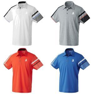 スリクソン SRIXON テニスウェア ユニセックス ポロシャツ SDP-1902 2019SS[ネコポス可]|kpi24