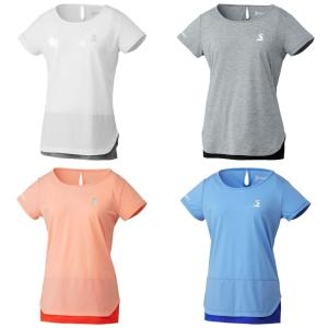 スリクソン SRIXON テニスウェア レディース ゲームシャツ SDP-1921W 2019SS[ネコポス可]|kpi24