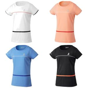 スリクソン SRIXON テニスウェア レディース ゲームシャツ SDP-1929W 2019SS kpi24