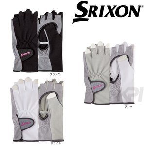 SRIXON スリクソン 「レディース グローブ ハーフタイプ 両手セット SGG-0710」|kpi24