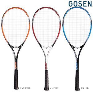 ゴーセン GOSEN ソフトテニスソフトテニスラケット  AXTHIES 100 アクシエス 100 ガット張り上げ済み SRA1|kpi24
