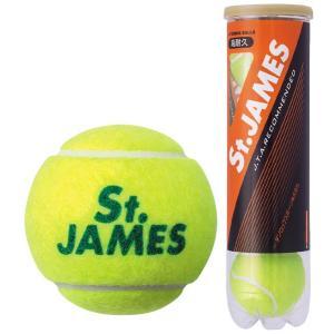 DUNLOP ダンロップ 「St.JAMES セントジェームス  1缶/4球 」テニスボール|kpi24