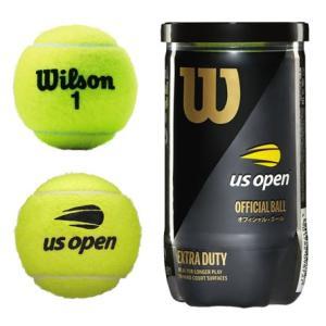 Wilson ウイルソン 「US Open Extra Duty USオープン・エクストラ・デューティ 1箱=30缶〔60球〕 WRT1000J」テニスボール|kpi24|02