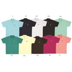 テニスウェア ユニセックス ゴーセン GOSEN ワンポイントポロシャツ T1308 SS|kpi24