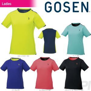 テニスウェア レディース ゴーセン GOSEN ゲームシャツ T1719 2017FW 2017新製品|kpi24