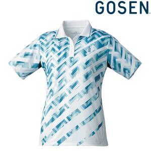 ゴーセン GOSEN テニスウェア レディース ゲームシャツ T1815 2018FW|kpi24