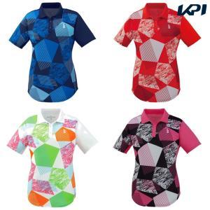 ゴーセン GOSEN テニスウェア レディース ゲームシャツ T1901 2019SS|kpi24