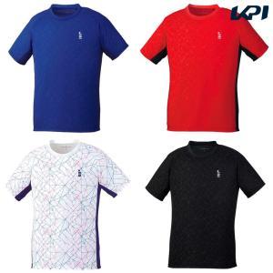 ゴーセン GOSEN テニスウェア ユニセックス ゲームシャツ T1904 2019SS|kpi24