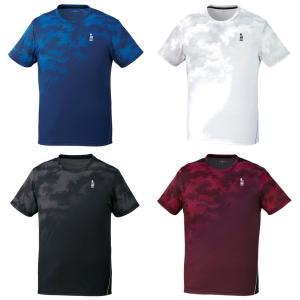 ゴーセン GOSEN テニスウェア ユニセックス ゲームシャツ T1912 2019SS [ネコポス可][ネコポス可]|kpi24