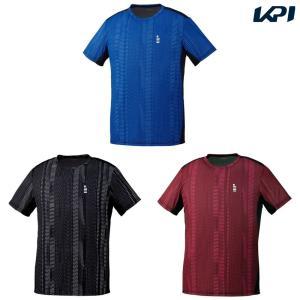 ゴーセン GOSEN テニスウェア ユニセックス ゲームシャツ T1914 2019SS [ネコポス可][ネコポス可]|kpi24