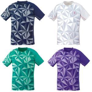 ゴーセン GOSEN テニスウェア ユニセックス ゲームシャツ T1930 2019SS[ネコポス可][ネコポス可]|kpi24