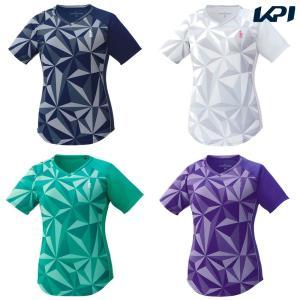 ゴーセン GOSEN テニスウェア レディース ゲームシャツ T1931 2019SS[ネコポス可]|kpi24