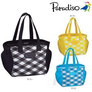 PARADISO(パラディーゾ)「SSチェック コートバッグ TAA614」テニスバッグ「KPI」|kpi24