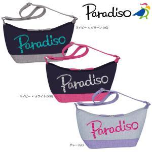 パラディーゾ PARADISO テニスバッグ・ケース  ビッグロゴショルダ- TAA812|kpi24