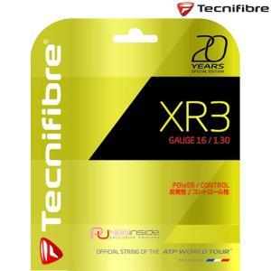 テクニファイバー Tecnifibre テニスガット・ストリング  XR3 1.30 発売20周年記念限定カラー  エックスアール3  TFG911GD130[ネコポス可]|kpi24